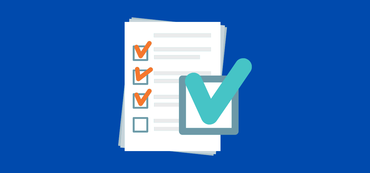 Sjekkliste av dokumenter